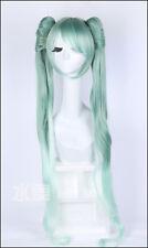 Miku Hatsune Vocaloid Anime Cosplay Perücke Wig L:120cm Neu