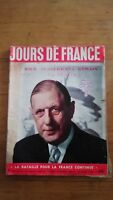 JOUR DE FRANCE 1956 N°83 DE GAULLE - FELLAGHA - IKE EISENHOWER