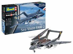 Revell 03866 De Havilland Sea Vixen FAW2 70th Anniversary 1/72 Scale Brand New