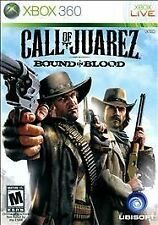 Call of Juarez: Bound in Blood  (Xbox 360, 2009) Complete with case and manual