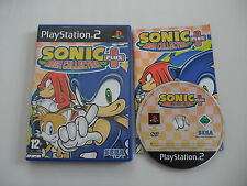 Sonic Mega Collection Plus (PAL) Playstation 2 PS2 PS3 Sony Complete OVP CIB