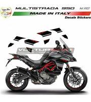 """Adesivi per fiancate laterali - Moto Ducati Multistrada 950 """"V837"""""""