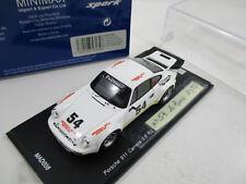 PORSCHE 911 CARRERA RSR #54 LE MANS 1975 (non partante) SPARK 1/43