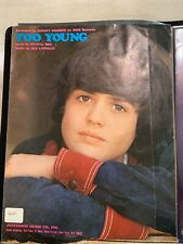"""Donny Osmond """"Too Young� Sheet Music"""