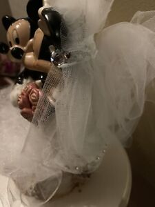 Mickey & Minnie Disney Cruise Line Wedding Cake Topper