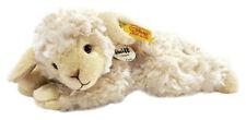 Steiff 280030 Linda Lamm 22 Wollweiss liegend