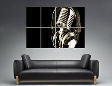 Spoken Word Musik Micro Wall Art Poster Great format A0 Wide Print