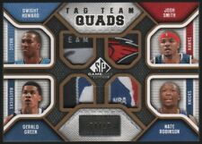 2009-10 Dwight Howard Gerald Green Robinson Smith SP Game Used Logo Patch 4/10
