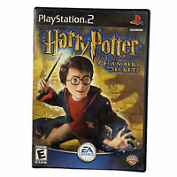 Harry Potter Chamber of Secrets Playstation 2 PS2 EA Games Manual Disc Case