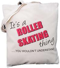 It's a ROLLER SKATING thing - you wouldn't understand - Cotton Shoulder Bag