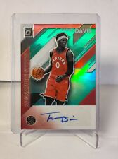 2019-20 Optic Holo Green SP RC Signature Series Auto Terence Davis Raptors