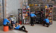 1/24 Scale (4) Automotive Shop Mechanics from Austin's Garage