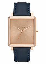 Nixon A472 2160 Women's K Squared Rose Gold Navy Watch (NO BOX INCLUDED)