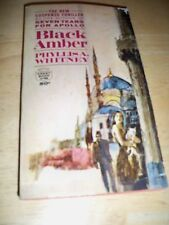 BLACK AMBER BY PHYLLIS A. WHITNEY (PAPERBACK 1965) CREST