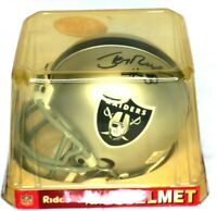 Jerry Rice Signed Autographed Raiders Riddell Mini Helmet Silver - No COA - New