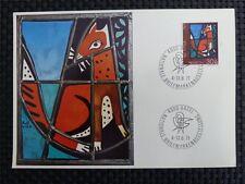 SCHWEIZ MK 1971 951 FUCHS FOX KUNST MAXIMUMKARTE CARTE MAXIMUM CARD MC CM c1527