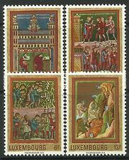 LUXEMBOURG. 1971. Medieval Miniatures Set. SG: 868/70. MNH.