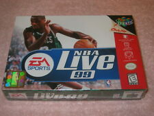 NEW SEALED NINTENDO 64 N64 NBA Live '99 (Nintendo 64, 1998) FREE SHIP 50 STATES