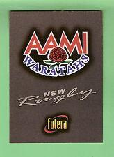 1996 AUSTRALIAN RUGBY CARD #48 - WARATAHS TITLE CARD