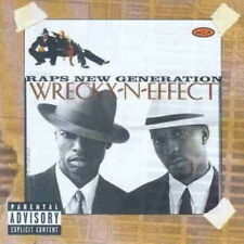 CD Album Wreckx-N-Effect Raps New Generation (Top Billin, Funk Box) 90`s MCA