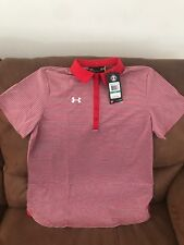 Under Armour Heat Gear Golf Loose  2016 Polo Shirt NWT Size L Womens