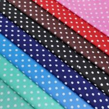 Beautiful  Middle Polka Dot Fabric, Easy to Iron, Simple Fabric