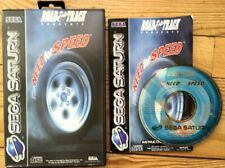 THE NEED FOR SPEED COMPLET BOÎTE NOTICE SEGA SATURN PAL EURO CIB OVP JEU NFS