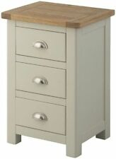 Country Solid Wood 56cm-60cm Bedside Tables & Cabinets
