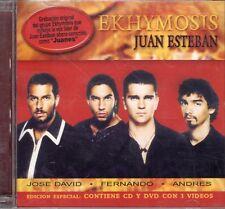 Ekhymosis Juan Esteban  CD+DVD  New Sealed