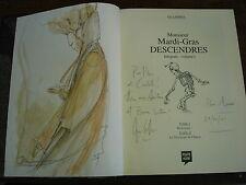 MONSIEUR MARDI-GRAS DESCENDRES Edition intégrale volume I  BD DEDICACEE