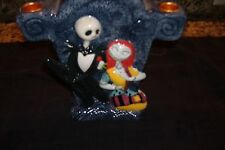 Nightmare Before Christmas Candelabra Disney Candle Holder Stand Jack Sally