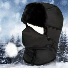 ef24135fc39 Unisex Winter Trapper Ushanka Warm Hunting Faux Fur HaT With Breathable Mask