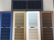 7x Heating Floor Vents Floor Vent Cover Heating Vent Vents 300x100mm Ducted gas