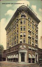 Clarksburg Wv Empire National Bank c1910 Postcard