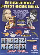 Star Trek Strike Force Figures 1997 Magazine Advert #7172