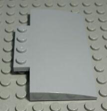 Lego Stein schräg abgerundet 4x8 new Grau                                 (1963)