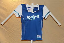 Los Angeles Dodgers MLB Fan Fashion JERSEY/Shirt  MAJESTIC Womens Medium NWT $40