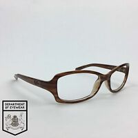 RAY-BAN eyeglass BROWN / DARK BROWN frame RECTANGLE Authentic. MOD:RB 2130