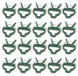 REUSABLE PLANT CLIPS PATIO SUPPORT FIXING CLIPS SPRING GARDENING SET