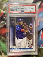 2019 Topps Update #US1 Vladimir Guerrero Jr RC PSA 10 GEM MINT ROOKIE CARD JAYS