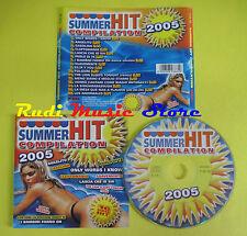 CD SUMMER HIT compilation 2005 DRUDI MARTINEZ NASSER B BEND no lp mc dvd (C15)