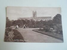 SELBY, The Park, Vintage Postcard Unposted    §A12074