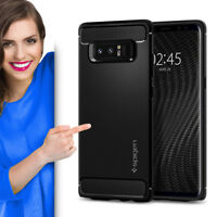 Spigen Rugged Armor für Samsung Galaxy Note 8 Schutzhülle Case Cover Carbon