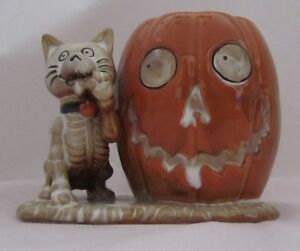 Yankee Candle Boney Bunch 2013 CAT Votive Holder #1293467 Halloween
