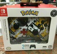 PowerA Nintendo Switch Enhanced Wireless Controller Pokemon Pikachu Graffiti New
