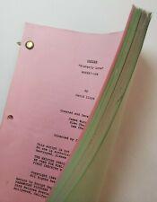 "CHEERS / David Lloyd 1989 TV Script RHEA PERLMAN & KIRSTIE ALLEY ""Sisterly Love"""