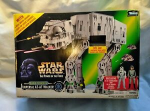 Star Wars Power of the Force Imperial AT-AT Walker Kenner 1997 Boxed POTF2