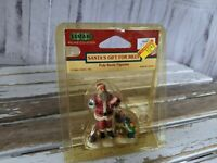 Vtg Lemax 1999 Santa's Gift for Billy 92284 Xmas Village Collection Figurine New