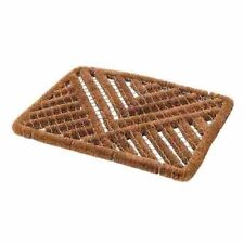 WIRE SCRAPER MAT 600mm x 400mm FRONT DOOR COIR DOORMAT WIPE FLOOR OUTDOOR P454