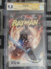 Batman 616 CGC SS 9.8 3X Signed - Jim Lee, Alex Sinclair, & Scott Williams